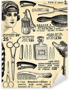 Naklejka Pixerstick Fryzjer dla pań