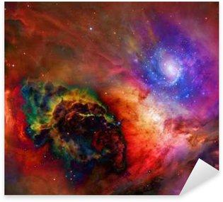 Naklejka Galactic kosmiczne Niektóre elementy dzięki uprzejmości NASA__