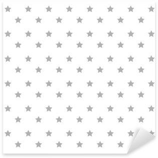 Naklejka Pixerstick Gwiazdy ikona wzór tła ilustracji wektorowych projektowania