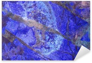 Naklejka Pixerstick Jasper niebieski tekstury makro