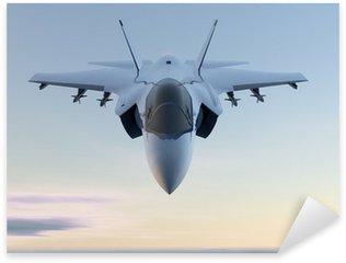 Naklejka Pixerstick Jet Myśliwiec F-35 samolotów wojskowych
