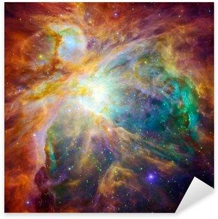 Naklejka Kosmiczne chmury nazywa Mgławica Oriona