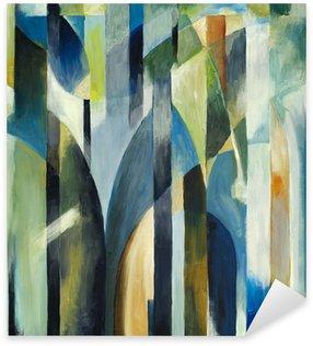 Naklejka Pixerstick Malarstwo abstrakcyjne