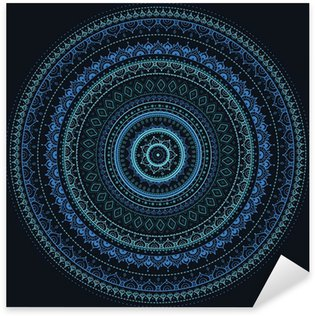 Naklejka Mandala. indian wzór dekoracyjny.