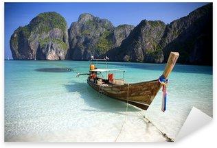 Naklejka Maya Bay, Ko Phi Phi Ley, Tajlandia.