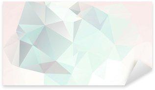 Naklejka Miękkie pastelowe tło abstrakcyjna geometrycznej wektora gradienty
