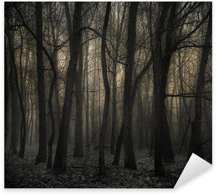 Naklejka Mroczny las