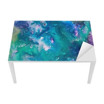 Naklejka na Biurko i Stół Farba texture
