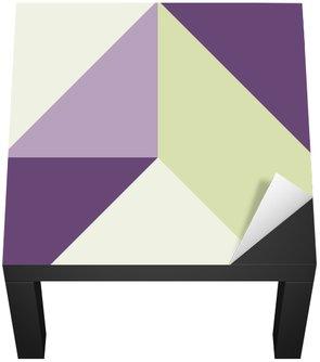 Naklejka na Biurko i Stół Geometrycznych bez szwu tła