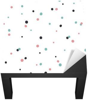 Naklejka na Biurko i Stół Streszczenie szwu na białym tle z czarno-Gol