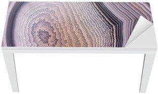 Naklejka na Biurko i Stół Szary agat struktura ciemnym tle