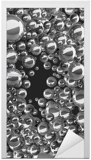 Naklejka na Drzwi Abstrakcyjna tła 3D dla prezentacji firmy