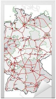 Autostrady, miasta i kraje Republiki Federalnej