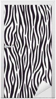 Bezszwowe tło z motywem skóry zebry