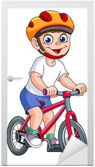 Dzieciak na rowerze