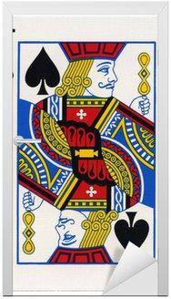 Naklejka na Drzwi Grając w karty - Jack of Spades