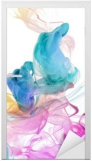 Kolory akrylowe w wodzie. abstrakcyjne tło.