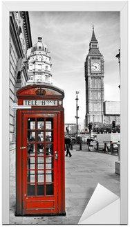 Naklejka na Drzwi London-Impression