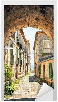 Naklejka na Drzwi Malowniczym zakątku w Toskanii, Włochy