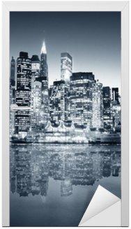Naklejka na Drzwi Manhattan Nowy Jork