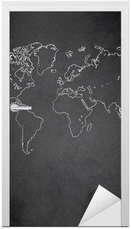 Mapa świata wektor tablica tablica