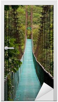 Most wiszący w dżungli Kostaryki