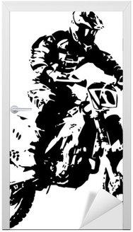 Naklejka na Drzwi Mx rider