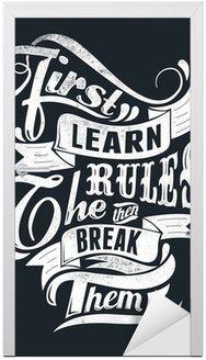 Nauczyć się zasad