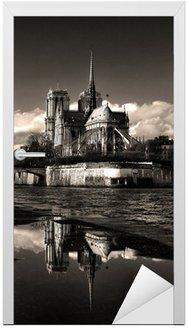 Naklejka na Drzwi Notre Dame, Paryż