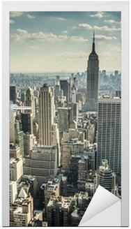 Naklejka na Drzwi Nowy Jork w USA