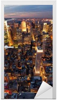 Naklejka na Drzwi Nowy Jork