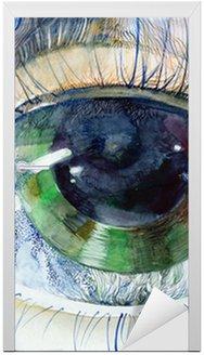 Obraz pięknej ludzkiego oka