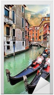 Naklejka na Drzwi Piękny krajobraz miejski Wenecja