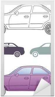 Samochód osobowy (stały, przedstawił widok z boku)