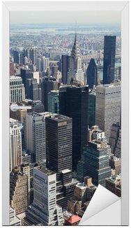 Naklejka na Drzwi Skyline Manhattanu