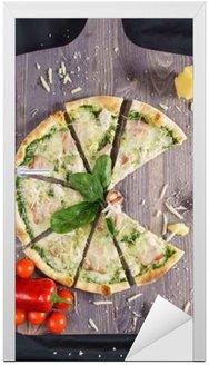 Naklejka na Drzwi Tasty pizza