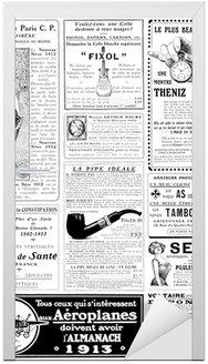 Naklejka na Drzwi Vintage reklama ok. 1913