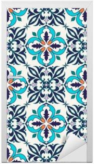 Naklejka na Drzwi Wektor bez szwu tekstury. Piękny kolorowy wzór do projektowania i mody z elementami dekoracyjnymi