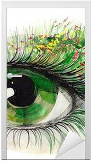 Zielone oko ludzkie (seria C)