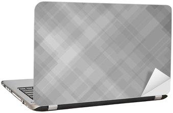 Naklejka na Laptopa Abstrakcyjny wzór szary