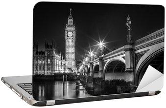 Naklejka na Laptopa Big Ben Clock Tower i Parlament