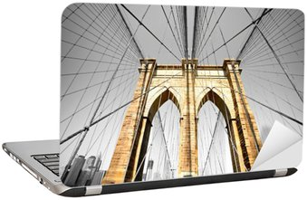 Naklejka na Laptopa Brooklyn Bridge, Nowy Jork. USA.