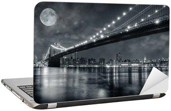 Naklejka na Laptopa Brooklyn Bridge