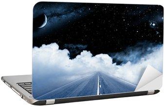 Naklejka na Laptopa Droga do galaktyki
