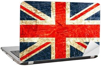 Naklejka na Laptopa English flag