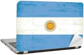 Naklejka na Laptopa Flaga argentyńskie
