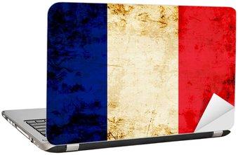 Naklejka na Laptopa Francuska flaga