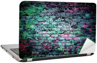 Naklejka na Laptopa Graffiti mur ceglany