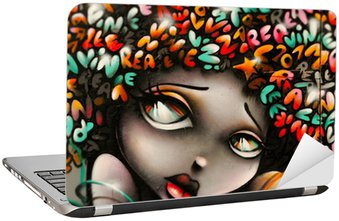 Naklejka na Laptopa Graffiti