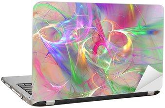 Naklejka na Laptopa Kolorowe abstrakcyjne tło